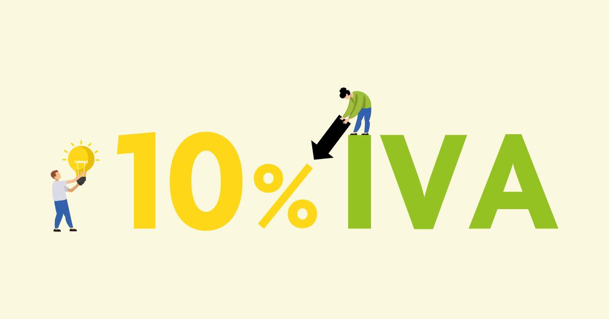 Bajada del IVA de luz al %